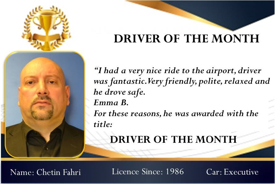 Driver of the month february