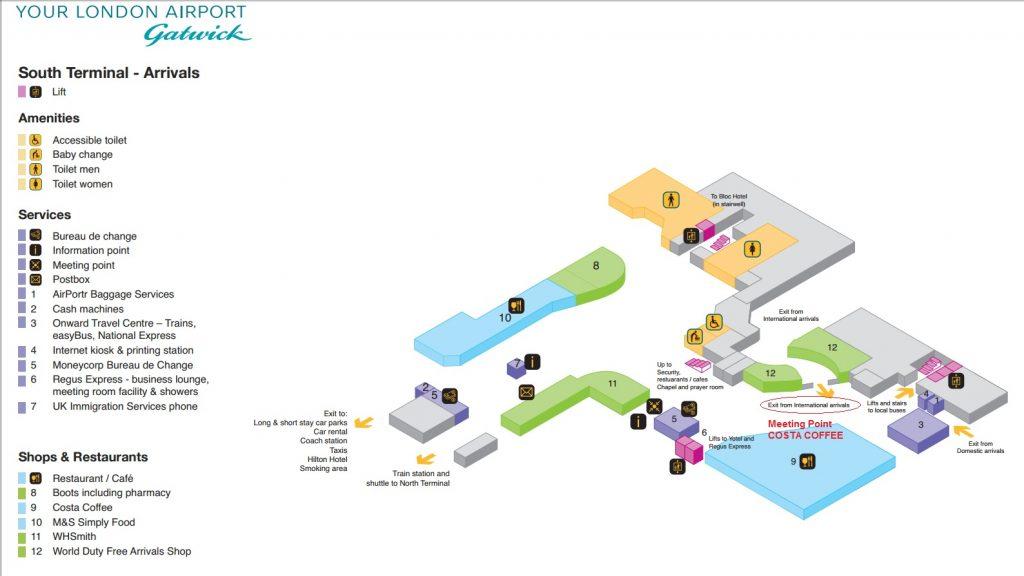 Terminal Maps - 247 Airport Transfer