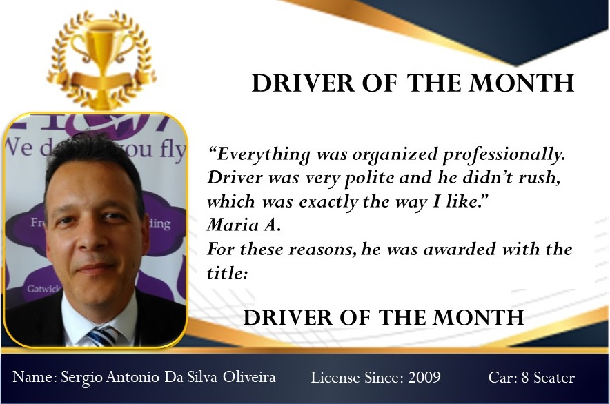 Driver of the month April