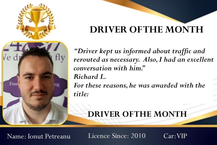 Driver of the month July