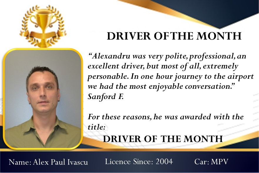 Driver of the month December 2018