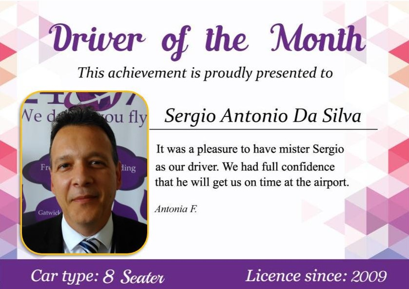 Driver of the month June